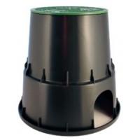 """210.3001250 Шахта за клапани """"PZC RN 25 EzOpen"""" - 10"""", кръгла, D = 25.30 cm, със закл. дръжка"""