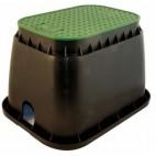 """210.3001115 Шахта за клапани PZR 115 EzOpen - JUMBO 20"""" B/G, правоъгълна / 67 x 49 x h=33 cm, със закл. дръжка"""