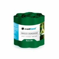 30-022H Лента ограничител за трева /тъмно зелена/ 15cm x 9m