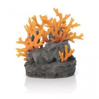 46123 Декорация biOrb Lava rock with fire coral ornament лава с огнен корал