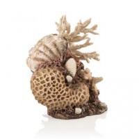 48360 Декорация biOrb coral-shells ornament natural корали с миди