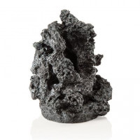 48362 Декорация biOrb mineral stone ornament минерален камък , черен