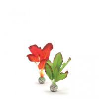 46099 Комплект biOrb Silk plant копринено растение , малък, зелен и червен