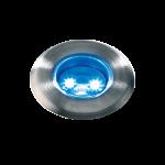 """3037601 Осветително тяло """"Astrum"""" LED син, 12V, 0.3 Watt, IP68"""