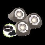 """3577443 Осветително тяло """"Lapis"""" комплект 3 x LED, IP68"""