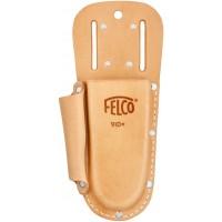 FELCO 910+ Калъф от естествена кожа с гайки за поставяне на колан и метална щипка за окачване