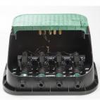 """К-т 4бр. клапан електромагнитен RN 155 Plus 1"""" мъжка резба с рег на дебита със соленоид 24VAC+решетка за клапани"""